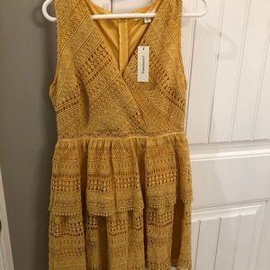 Yellow Francescas Dress